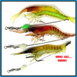 Wholesale Wh0007 6g Popular Shrimp Soft Lure Fishing Tackle