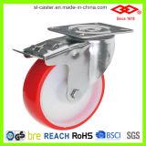 100mm PU Swivel Locking Caster Wheel (P104-26D100X30S)
