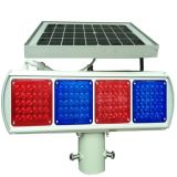 solar traffic warning light/blinker