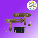 OEM Euro Style Mortise Door Lock and Handle, Brass Lock
