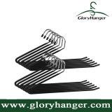 Heavy Duty Slacks/Trousers Hangers, Open Ended Non-Slip Towel Rack
