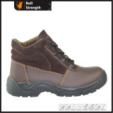 Puncture-Resistant Construction Safety Boot with Steel Toe Cap (SN1641)