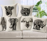 Animal Elephant Cotton Pillow Car Pillow Office Sofa Cushion Covers