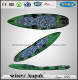 Single Sit on Top Plastic Paddle Kayak