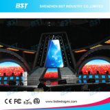 High Brightness P6mm HD Video Rental LED Display Advertising / Full Color LED Screen for Stage