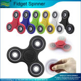 Ceramics Beads Tri-Spinner Plastic EDC Hand Spinner for Autism and Adhd Fidget Spinner (J-NF10F02026)