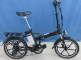 "Folding Electric 20"" Portable Bike with 3PAS&LED Display (JSL039XBL-9)"