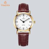 OEM&ODM Quartz Watch Ladies Watch with Genuine Leather Band71254