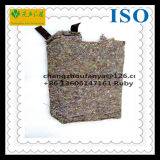 Industrial Wool Felt Pad/Recycled Polypropylene Woven Fabric