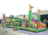 Playground Inflatable Obstacle Course for Kids/Outdoor Inflatable Playground Toys