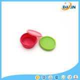 Silicone Bowls with Cover for Children Travel Lunch Box Foldable