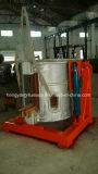 Hydraulic Steel Shell Intermediate Frequency Furnace for Aluminum