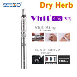 Seego E-Cigarette Vhit King Atomizer+Battery Pen Kits for Dry Herb