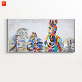 High Quality Zebras for Decor Oil Painting