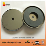 Permanent Ferrite Pot Magnets/Magnetic Holders