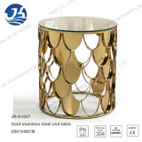 Round Stainless Steel Corner Table/ Accent Table