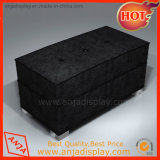 Black Long Wooden Stool for Shop