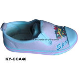 China Wholesale Kids Comfort Casual Shoes Supplier Canvas Upper Injection Sole