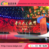 P3.91 Indoor Curved Arc Shape Rental LED Display for Stage
