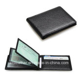 PU Leather Slim Super Thin Business Card Holder Case