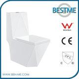 Diamond Shape Modern Design Ceramic Siphonic Toilet