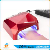36W Diamond Nail Lamp with LCD Screen