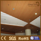 Natural Wood Feeling Plastic Wood Ceiling for Simple Installation 40X55mm