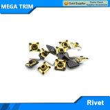 Matel Light Gold Pyramid Shap Rivet with Two Feet