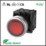 Supu Latch IP67 No Nc Illuminated Pushbutton Switches by Metal Frontring