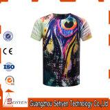 OEM Custom Printed Cotton T-Shirt 3D Sublimation Printing Men Tshirt