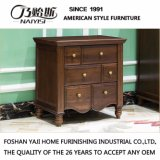 High Quality Bedroom Furniture Solid Wood Nightstand (AS816)