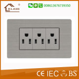 American Style Electrical 110V~250V Lighting Receptacle Outlets