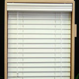 Manual PVC Foamwood Blinds, Waterproof Venetian Blinds