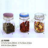 Glass Jar for Storage/ Clip Cap Storage Glass Jar