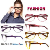 New Arrival Fashion Optical Frame Glasses Frame Acetate Frame with Ce and FDA