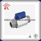 Stainless Steel Threated Mini Ball Valve with Reduced-Bore