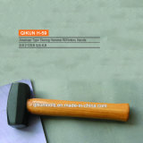 H-59 Hickory Handle American Type Stoning Hammer