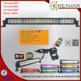 240W IP68 5f RGB LED Double Row Lightbar