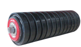 Rubber Ring Type Conveyor Impact Roller Made in China