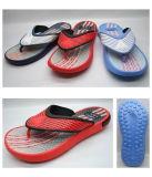 Boy′s V-Straps Plastic EVA PE Rubber Slipper (21JS760)