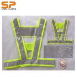 Green Police LED High Visibility Reflective Traffic Safety Vest (ST-LRV-14)