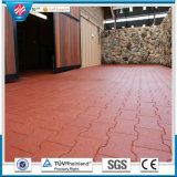 Water Proof Horse Stable Dog-Bone Rubber Tile