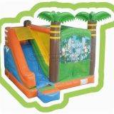 Cheer Amusement Children Indoor Jungle Inflatable Bouncer and Slide Combine