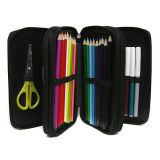 Polester Durable Student Stationery Pencil Bag (MS9034)