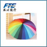 ISO 9001 Manual Open Straight Gift Umbrella