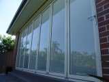 California Aluminum Folding Door with Internal Blinds