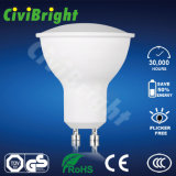 5W GU10 LED Bulb Dimmable PC Cover Smooth Curve LED Lamp Spotlight