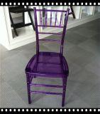 Crystal Clear Banquet Resin Chiavari Chair for Weddings