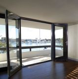 Excellent Quality Thermal Break Aluminum Patio Door with Safety Glass