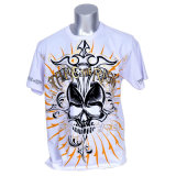 100% Cotton Custom Print Short Sleeve Men T-Shirt